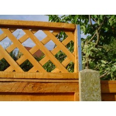POSTFIX 795mm Long Trellis Fence Height Extension Arms PAIR