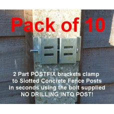 PostFix Main Bracket PACK OF 10