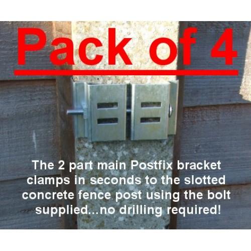 Postfix Main Bracket Pack Of 4