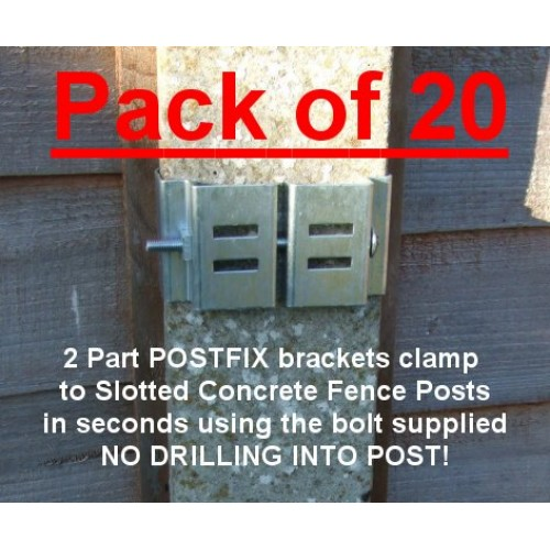 Postfix Main Bracket Pack Of 20