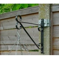 PF3 Postfix Traditional Hanging Basket Bracket SINGLE